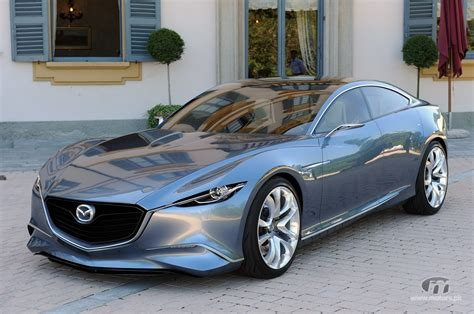 2011 Mazda Shinari Concept Luxury Sports Car