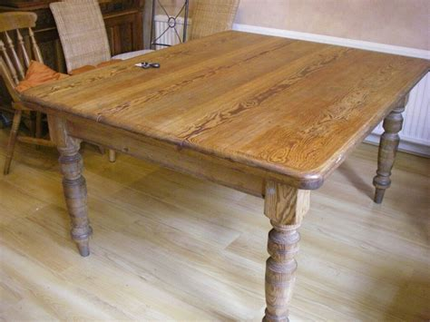 Primary Farmhouse Style Pine Dining Table Best