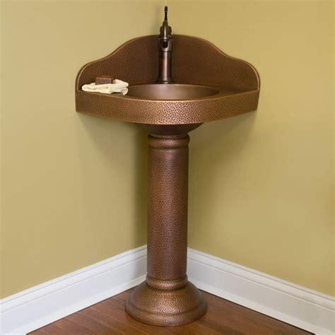 the 25 best ideas about corner pedestal sink on pinterest