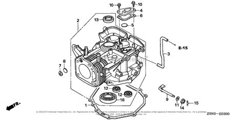 Honda Engines Gxvrt Engine Tha Vin Gjact