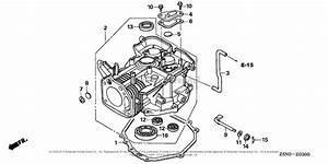Honda Engines Gxv340rt2 Da23 Engine  Tha  Vin  Gjact