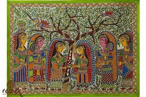 Madhubani Painting - Vat Savitri Puja – Remek