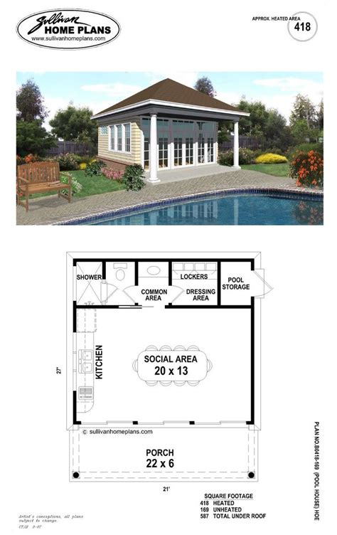 pool house plans with bathroom pool house plans luxamcc org