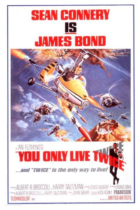 You Only Live Twice (1967) | James bond movie posters ...