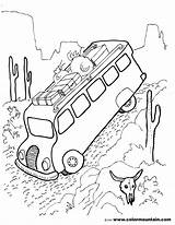 Rv Pages Coloring Colouring Caravan Bus Drawing Sheet Trailer Printable Getcolorings Impressive Getdrawings sketch template