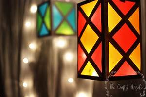 Diwali Lantern Making Tutorial #13 - THE CRAFTY ANGELS