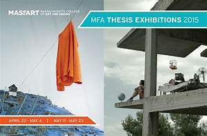 MFA Thesis Show 2015   MassArt