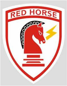 Air Force Civil Engineer Red Horse Decal | North Bay Listings