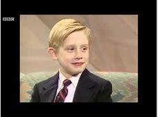Macaulay Culkin on Wogan 1990 YouTube