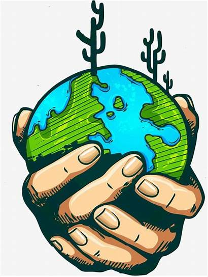 Earth Protect Clip Clipart Drawing Drawings Cartoon