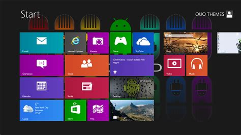 theme bureau windows 7 android theme for windows 7 and 8 ouo themes