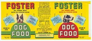 vintage unused dog food can labels | Collectors Weekly