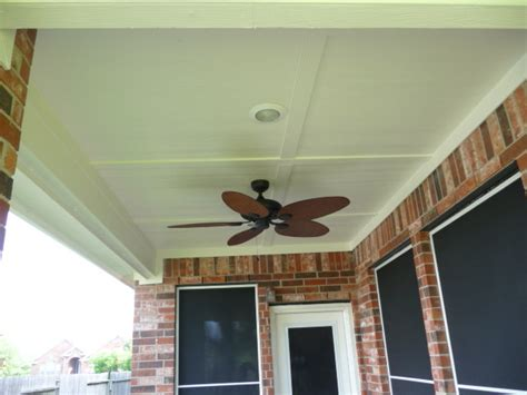 patio cover ceiling options traditional patio