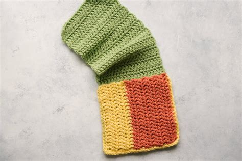Crochet Arm Chair Organizer