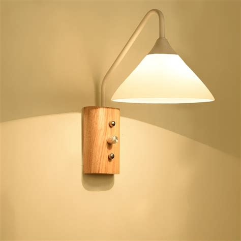 bedside l led reading ls wall mounted 110 220v bedroom wall lighting contemporary e27