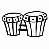 Instrumentos Dibujo Colorear Bongos Imprimir Musicales Unos Dibujos Bongo Timbal Bongoes Bateria Imagui Infantiles Iluminar Imagen Mejores Nombres Hanklee Musica sketch template