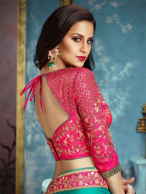 silk saree blouse design latest silk saree blouse