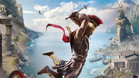 Wallpaper Assassin's Creed Odyssey, 2018, Hd, Games, #14485