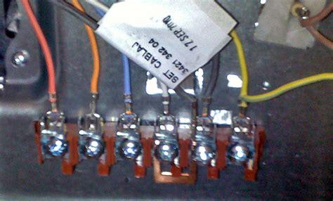 branchement plaque induction 5 fils branchement electrique four et plaque de cuisson cuisini