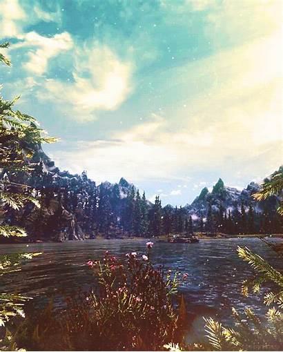 Nature Lake Animated Gifs Water Scenery Ocean