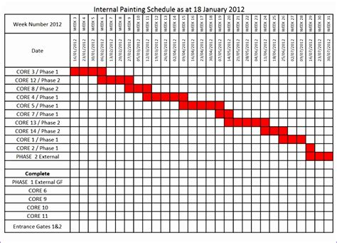excel schedule template exceltemplates