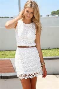 designer sommerkleider amazing white lace dresses fashiongum