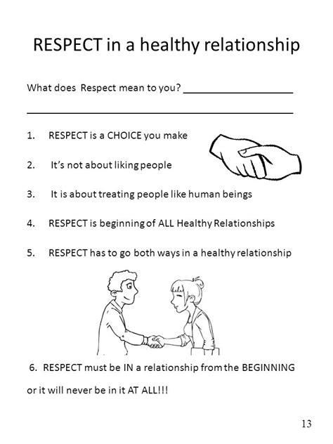 building healthy relationships worksheet worksheets for