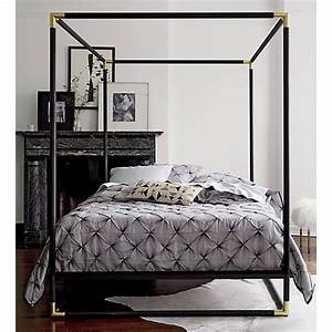Bed Frame Canopy Pertaining To Household
