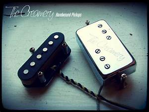 Creamery Custom Handwound Replacement Tele  Telecaster Pickups