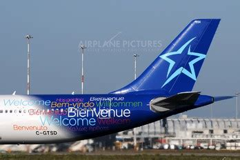 c gtsd air transat airplane pictures net