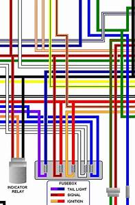 Ccm R30 Motorcycle Large A3 Laminated Colour Wiring Loom Diagram