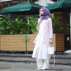 Model Baju Gamis Rompi Terbaru 2019