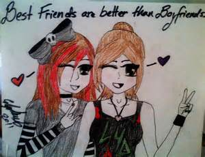Best Friend Drawing