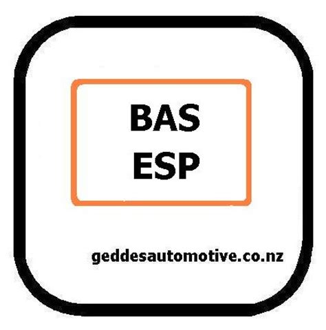 Esp Bas Light by Geddes Auto Reset Dash Warning Light Auckland 636 7064