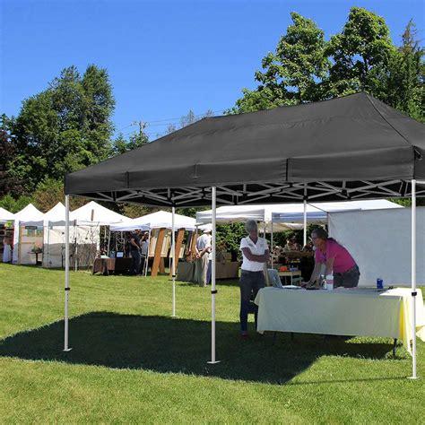 commercial  ft pop  canopy tent instant trade vendor fair  roller bag ebay
