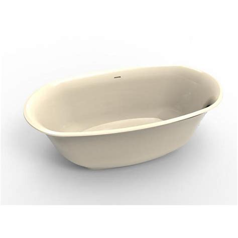 Biscuit Tub by Hydro Systems Liberty 5 3 Ft Solid Surface Flatbottom Non