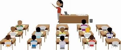 Classroom Down Sit Seats Activity Class Students