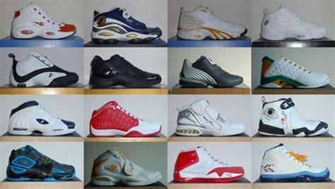 history allen iverson reebok signature sneaker  sole