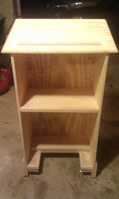 diy podium  woodworking