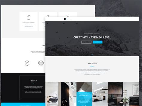 bootstrap single page template modus free bootstrap single page portfolio template 72pxdesigns