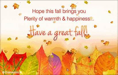 Fall Autumn Cards Greetings Poem Greeting Card