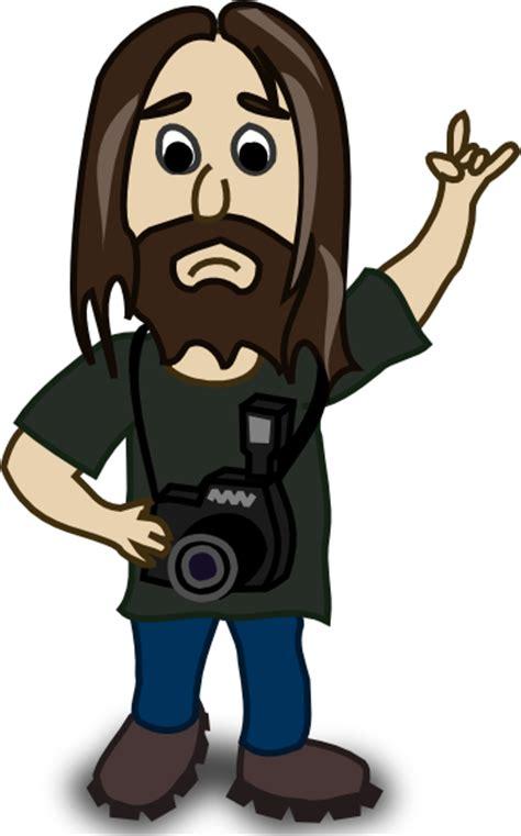 photographer clip art free vector 4vector