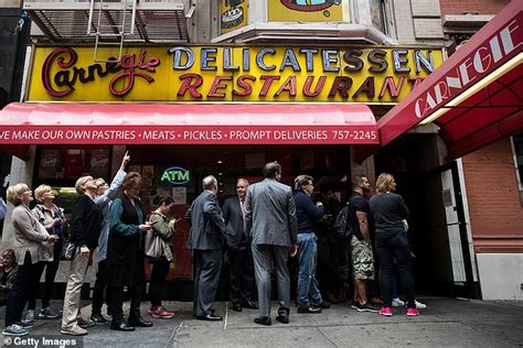 Opens in 8 h 42 min. Carnegie Deli to make NYC return for one week pop-up with 1958-style menu featuring $1 ...