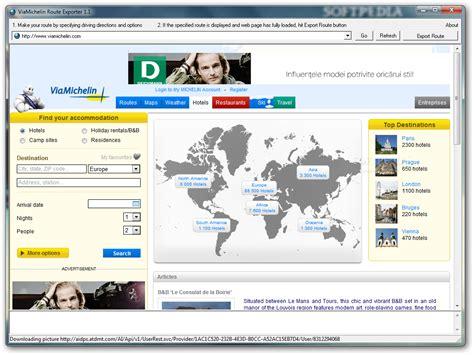 viamichelin route exporter download