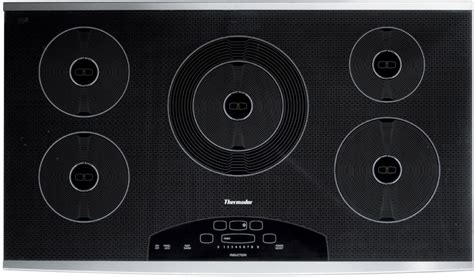 thermador induction cooktop thermador cit365ds 36 inch induction cooktop with 5