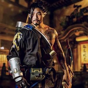 Hanzo Overwatch Cosplay Male Alienware Arena