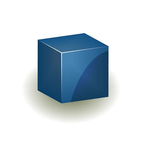 Free Vector Cube Icon  Dbrundage's Blog