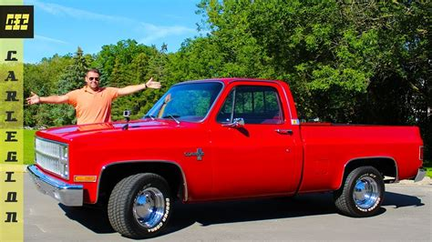 You Won't Believe The Engine In This 1981 C10 Chevy