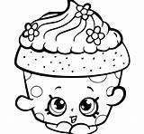 Cupcakes Drawing Cupcake Coloring Pages Cute Printable Simple Getdrawings sketch template