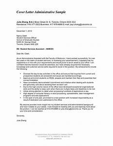 Cover Letter For Job Application For Administrative Administrative Assistant Cover Letter Examples For Admin Administrative Assistant Cover Letter Examples Sample Executive Assistant Cover Letter 9 Download Free